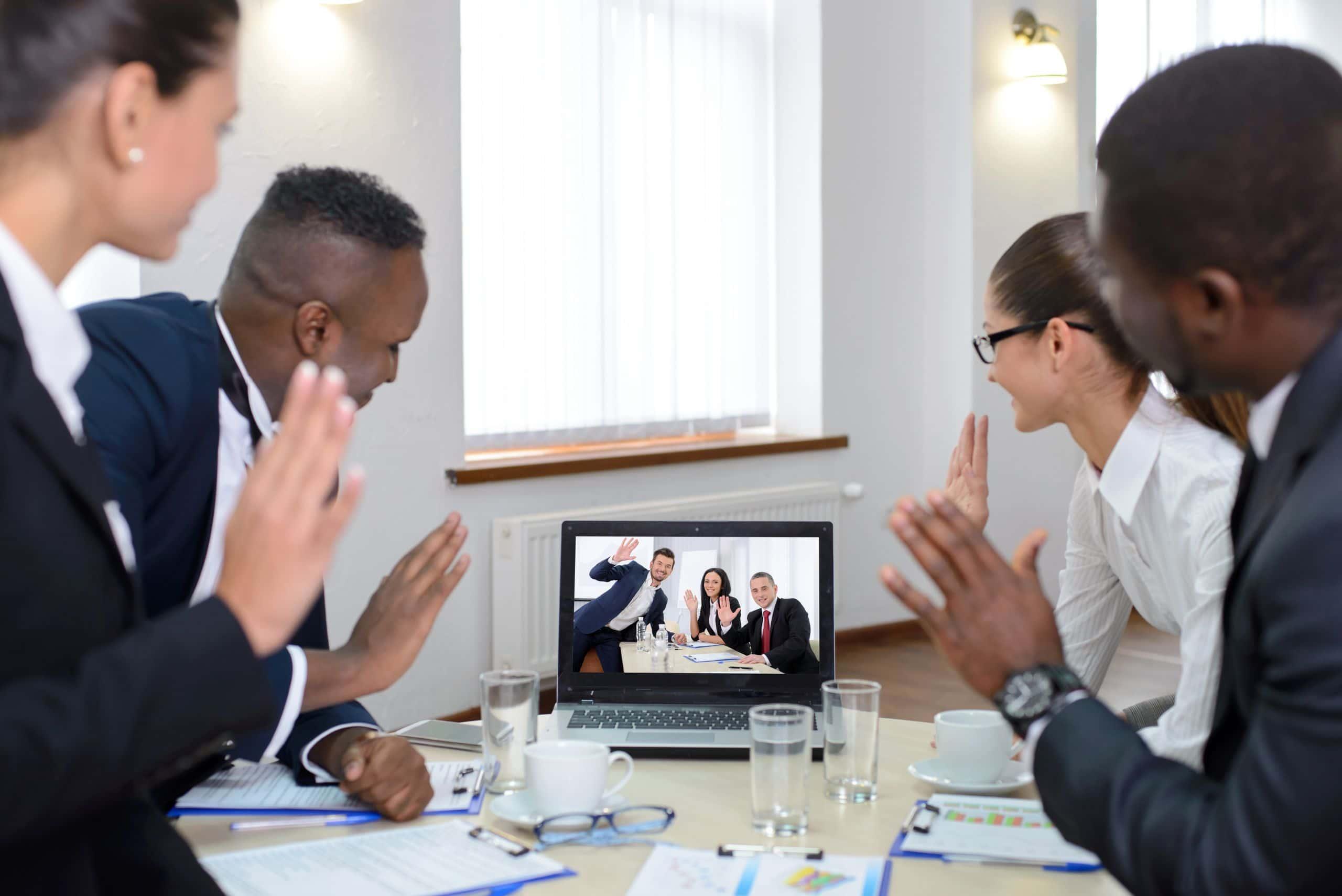 Lagmøte som videokonferanse