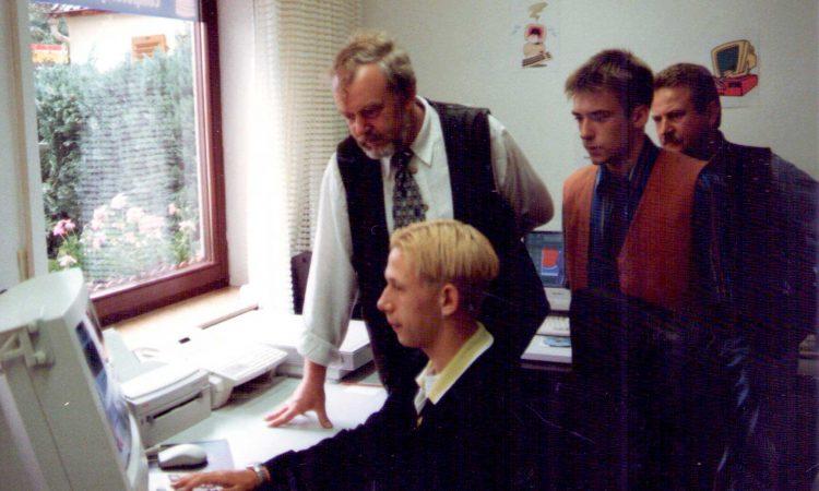 открытие офиса1996_1