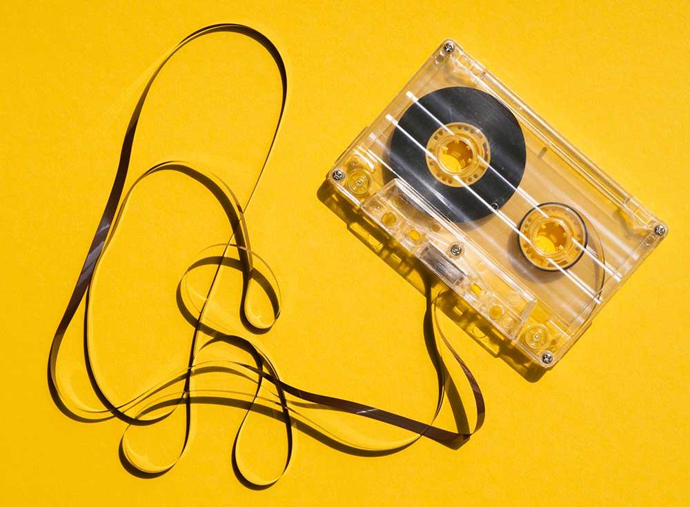 кассета желтый