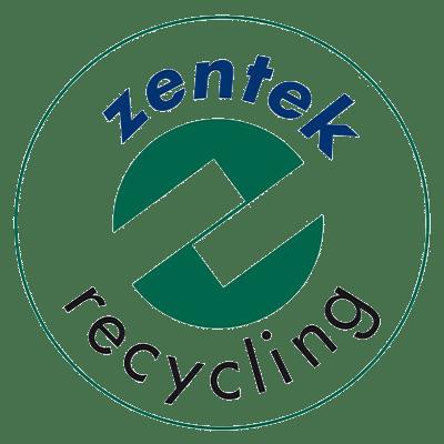 Логотип Zentek по переработке отходов
