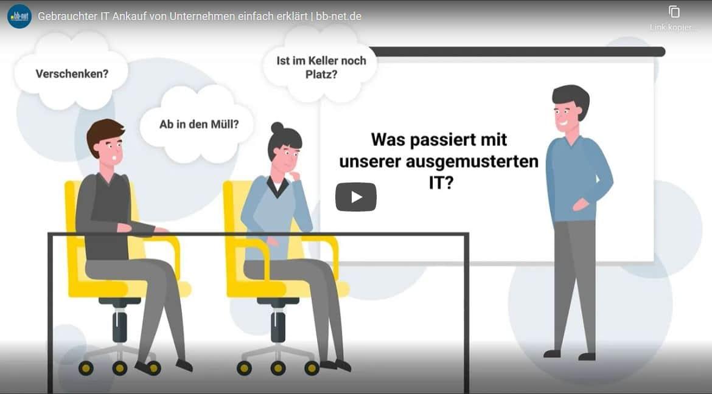 Forhåndsvisning av grafisk forklaringsvideo, IT-kjøp