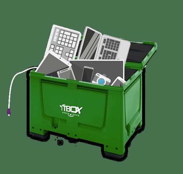 Elektronisk avfall som kan gis til gjenvinning